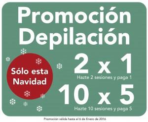 NectarCLINIC Xàtiva - Oferta Navidad - depilación laser 2x1 10x5