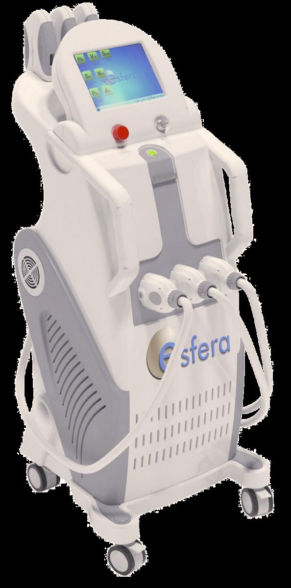 Aparatologia - Plataforma Esfera Plus E-light IPL SHR Radiofrecuencia Depilacion laser Dermorejuvenecimiento tratamientos vasculares reparación antiedad depilacion acne pigmentacion