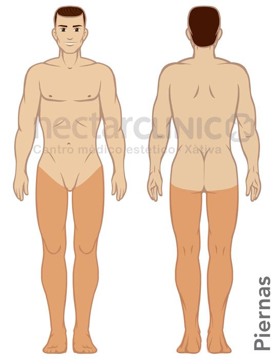 083fb09853ac1 Precio depilación PIERNAS COMPLETAS HOMBRE - NectarCLINIC Xàtiva