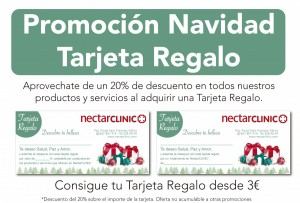 NectarCLINIC Xàtiva - Oferta Navidad - Tarjeta Regalo