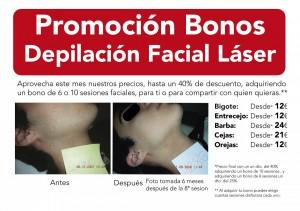 NectarCLINIC Xàtiva - PRomoción Bono Depilación Facial Láser